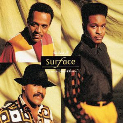 Surface ‎– The Best Of Surface...A Nice Time 4 Lovin' CD