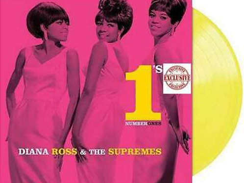 Diana Ross & The Supremes* – Number 1's Translucent Yellow Vinyl