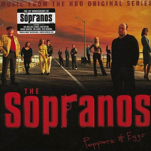 Various ‎– The Sopranos - Peppers & Eggs - Music From The HBO Original Series