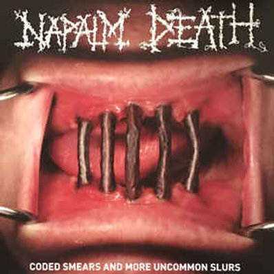 Napalm Death – Coded Smears And More Uncommon Slurs  2 × Vinyl, LP, Compilation