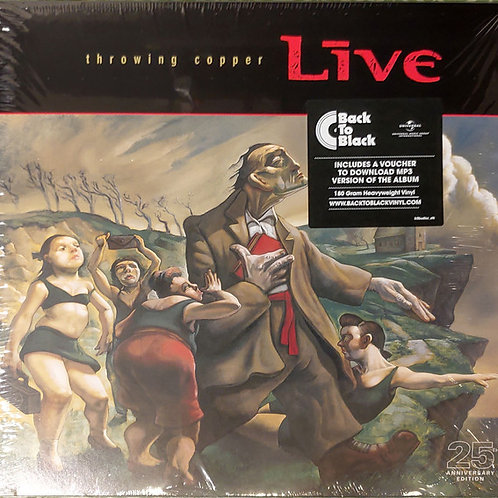 Live – Throwing Copper 25th Anniversary Edition