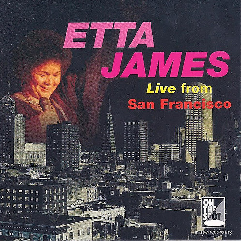 Etta James – Live From San FranciscoCD