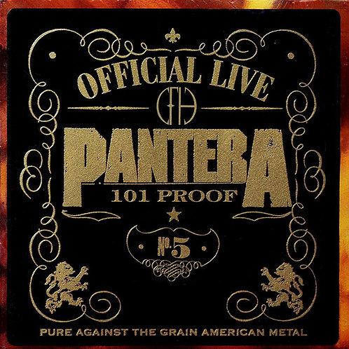 Pantera – Official Live: 101 Proof 2x lp