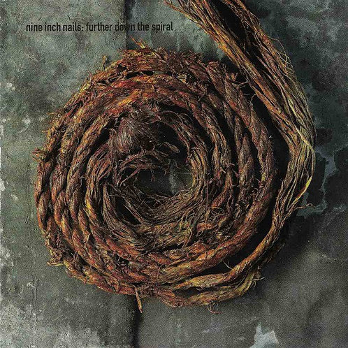 Nine Inch Nails–FurtherDownTheSpiral CD