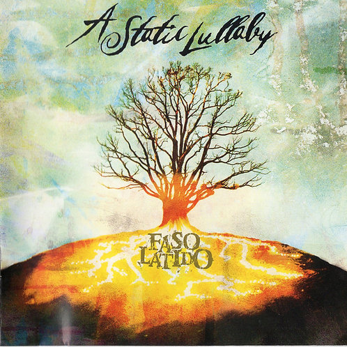 A Static Lullaby ‎– Faso Latido CD