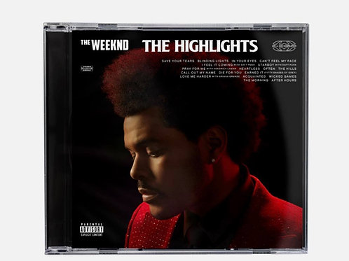 The Weeknd ‎– The Highlights cd