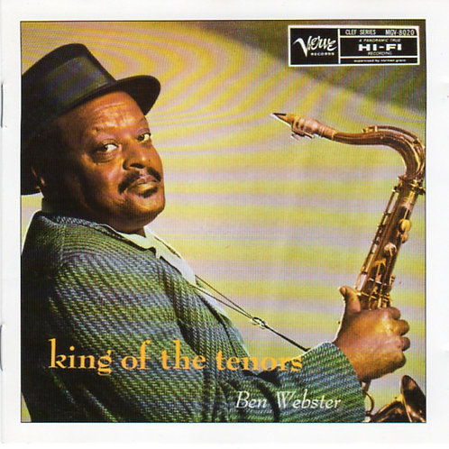 Ben Webster – King Of The Tenors CD