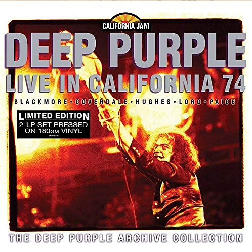 Deep Purple ‎– Live In California '74 Limited Edition