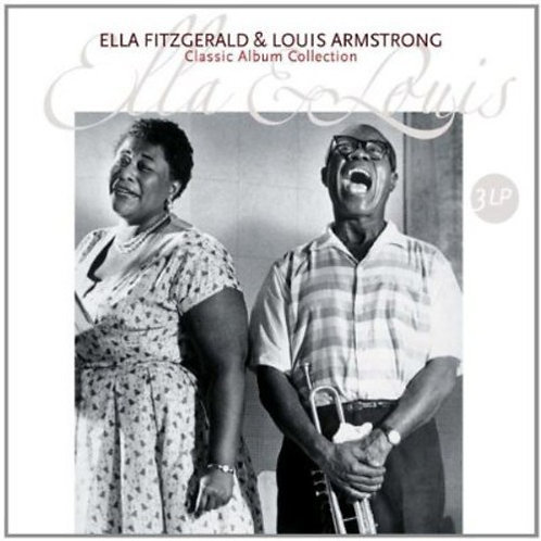 FITZGERALD,ELLA & LOUIS ARMSTRONG - ELLA & LOUIS CLASSIC ALBUM COLLECTION (HOL)