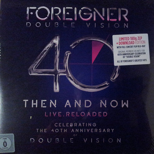 Foreigner – Double Vision: Then And Now Live.Reloaded