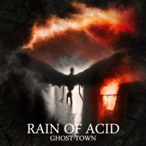 Rain Of Acid ‎– Ghost Town CD