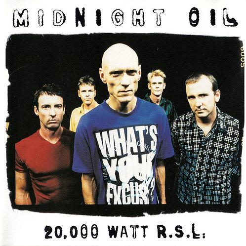 Midnight Oil – 20,000 Watt R.S.L.  CD