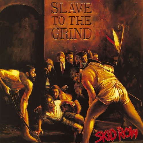 Skid Row ‎– Slave To The Grind CD