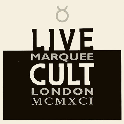 The Cult ‎– Live Cult Marquee London MCMXCI CD
