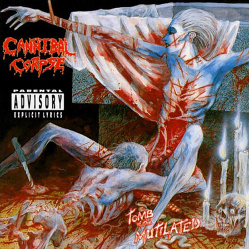 Cannibal Corpse–Tomb Of The Mutilated CD