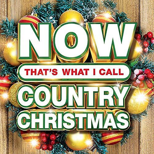 Various – Now That's What I Call Country Christmas Red Vinyl