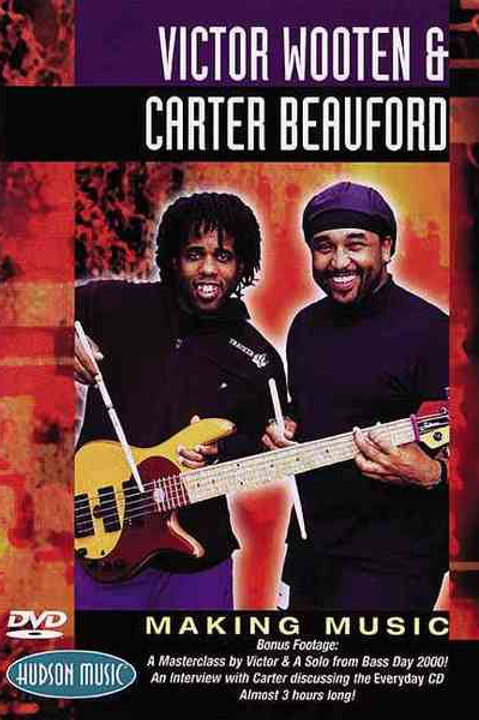Victor Wooten & Carter Beauford ‎– Making Music (Dvd Used)
