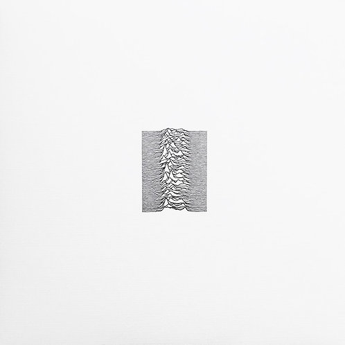 Joy Division ‎– Unknown Pleasures limited edition Ruby Red vinyl