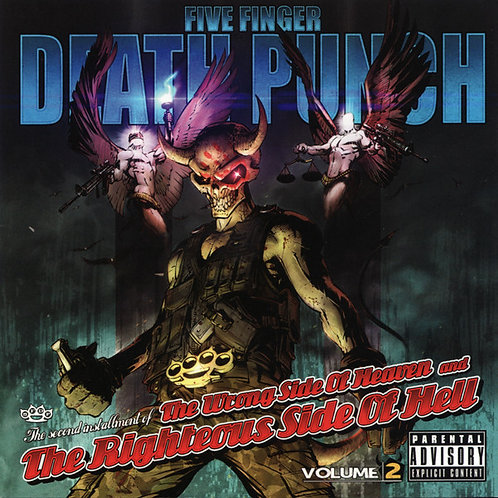 Five Finger Death Punch – The Wrong Side Of Heaven CD