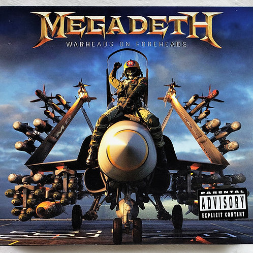 Megadeth ‎– Warheads On Foreheads CD