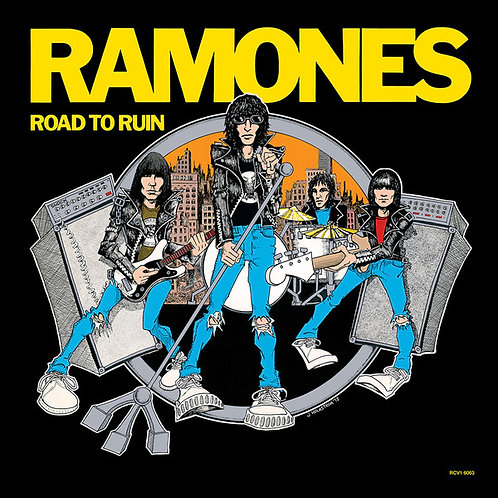 Ramones ‎– Road To Ruin(inyl, LP, Album, Limited Edition, Reissue, Blue )