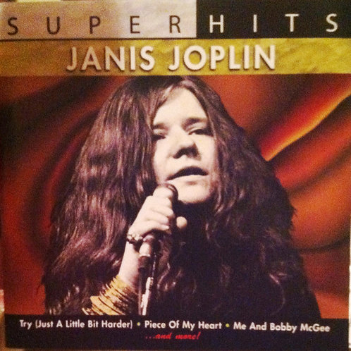 Janis Joplin–Super Hits CD