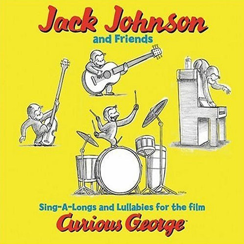 Jack Johnson And Friends* – Sing-A-Longs And Lullabies For The Film Curious Geo