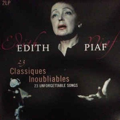 Edith Piaf – 23 Classiques Inoubliables - 23 Unforgettable Songs