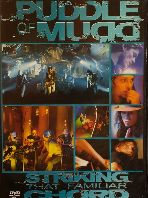 Puddle of Mudd - Striking That Familiar Chord (Dvd Used)