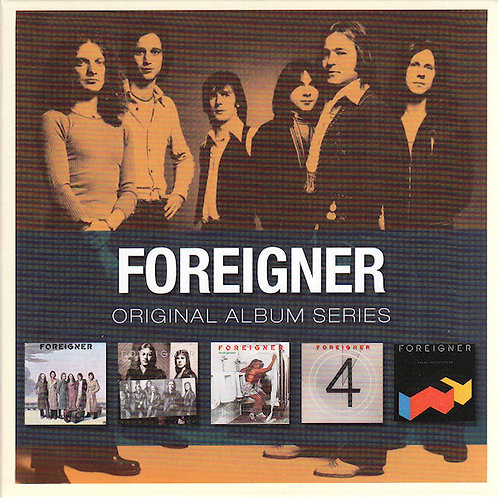 Foreigner ‎– Original Album Series CD