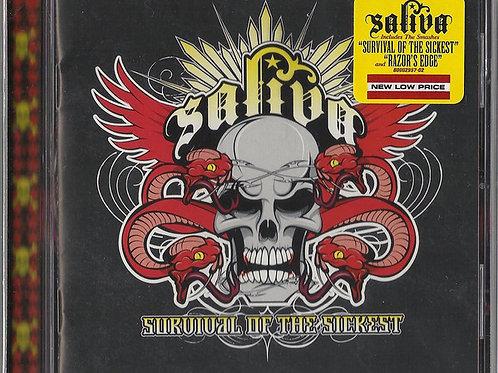 Saliva – Survival Of The Sickest CD