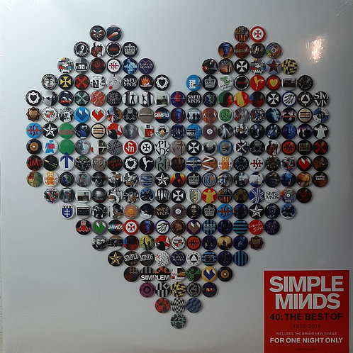 Simple Minds ‎– 40: The Best Of 1979 -2019