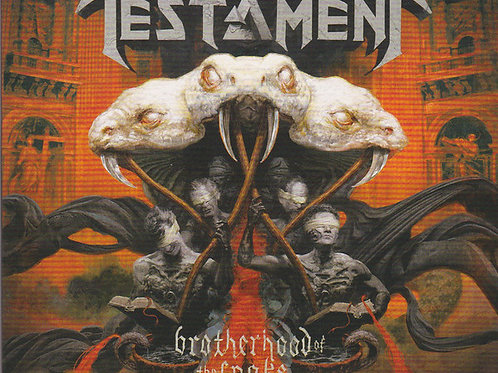 Testament (2) – Brotherhood Of The Snake CD