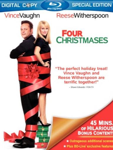 Four Christmases [Blu-Ray Dvd Used]