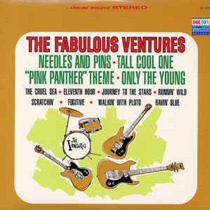 The Ventures – The Fabulous Ventures limited edition 180gram colored vinyl