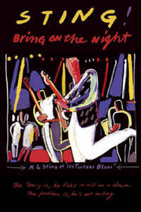 Sting–Bring On The Night (Dvd Used)