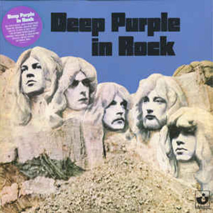 Deep Purple ‎– Deep Purple In Rock(Vinyl, LP, Album, Limited Edition, Reissue, R