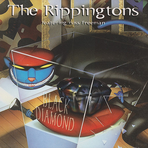 The Rippingtons Featuring Russ Freeman (2) ‎– Black Diamond CD