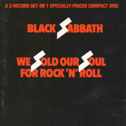Black Sabbath – We Sold Our Soul For Rock 'N' Roll CD