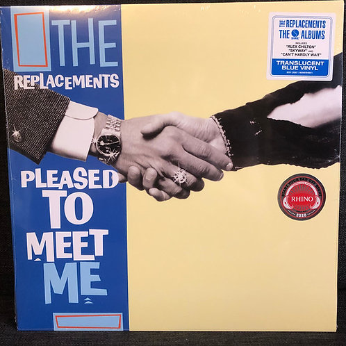 The Replacements ‎– Pleased To Meet Me