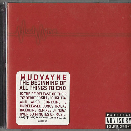Mudvayne – The Beginning Of All Things To End CD