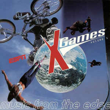 ESPN Presents: X Games - Volume One: Music From The Edge (CD)