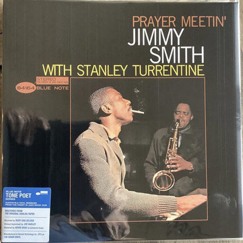 Jimmy Smith With Stanley Turrentine ‎– Prayer Meetin' TONE POET SERIES