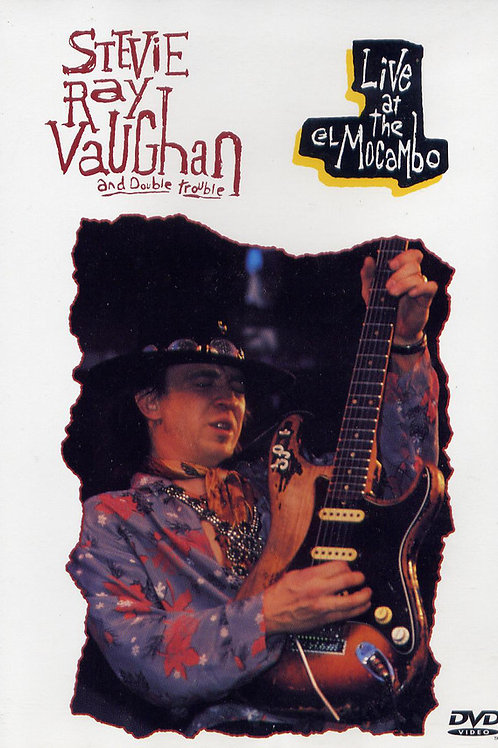 Stevie Ray Vaughan And Double Trouble*–Live At The El Mocambo (Dvd Used)