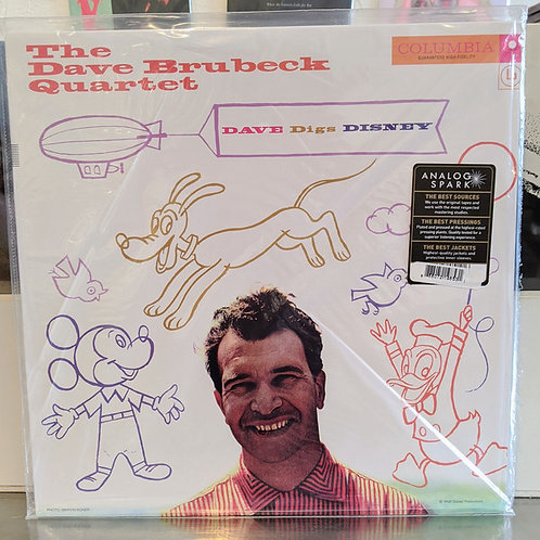 The Dave Brubeck Quartet ‎– Dave Digs Disney