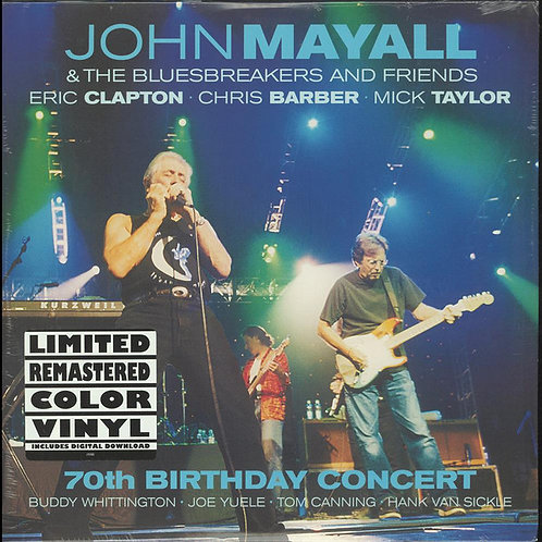 John Mayall & The Bluesbreakers And Friends* ‎– 70th Birthday Concert
