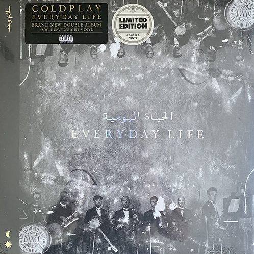 Coldplay – Everyday Life INDIE EXCLUSIVE GOLD VINYL