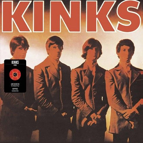 The Kinks – Kinks Limited Edition, Reissue, Mono, Red Transparent