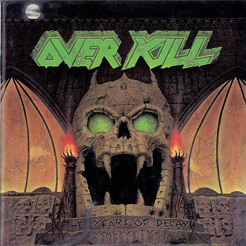 Overkill ‎–The Years Of Decay CD