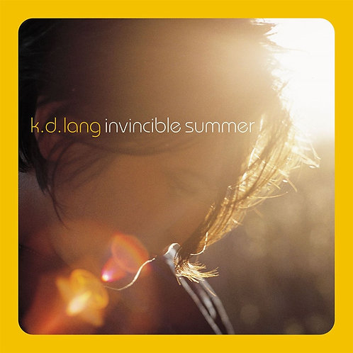 k.d. lang – Invincible Summer 20th Anniversary Edition (Yellow Flame colored vi